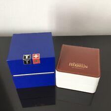 HERBELIN TISSOT - LOT de 2 ÉCRINS pour Montres Watch Boxes
