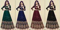 Indian Pakistani Bollywood Designer Anarkali Salwar Kameez Suit Ethnic Party KR