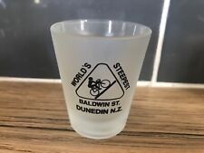 Baldwin Street New Zealand Shot Glass Souvenier