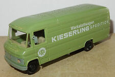 HERPA HO 1/87 MERCEDES-BENZ 508 D verde KIESERLING SPEDITION b