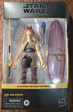"Star Wars Black Series * Jar Jar Binks * 6"" Action Figure The Phantom Menace!"