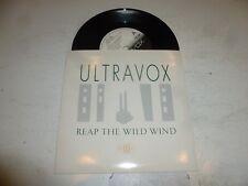 "ULTRAVOX - Reap The Wild Wind - 1982 UK 2-track 7"" Vinyl singles"