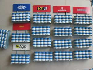 SCX track crash wall tyre barrier fences for Scalextric Carrera Ninco slot cars