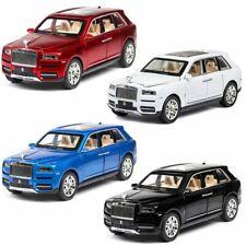 Rolls-Royce Cullinan Metal Diecast 1:24 Model Car With Light Sound Pullback