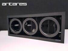 Antares 3x35/70W CDM-R111 Battery 3L Triple Gimble Downlight, black finish