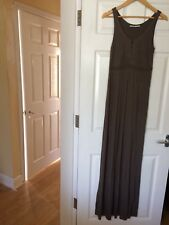Day Birger et Mikkelson Full Length Taupe Maxi Dress Size Extra Small