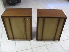 Pair Vintage Wharfedale Speakers