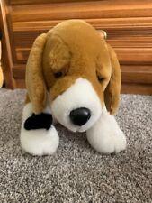 "Build A Bear Beagle Brown/Black/White Puppy Dog Stuffed Animal Plush 14"" Long"