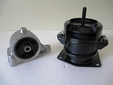 FRONT & REAR LOWER ENGINE MOUNTS -- FITS: 2003-2008 HONDA PILOT (3.5L, V6, AWD).