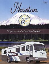 Prospekt brochure USA Tiffin Phaeton Motorhome 2003 Reisemobil Wohnmobil
