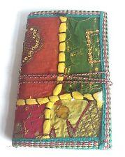 Grande Diario Reciclado Papel Algodón Patchwork SARE Cuaderno Diario buda