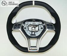 LE TEF® Leder Lenkrad für Mercedes-Benz 45 63 AMG W204 W212 R231 R172 Perf.