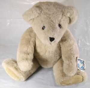 """Vintage 1993 Vermont Teddy Bear Co Classic Jointed Plush Stuffed Animal 18"""""""