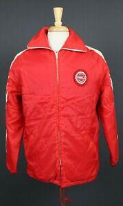 Vintage 70's-80's Conklin Quality Products Zip Racing Work Jacket Medium