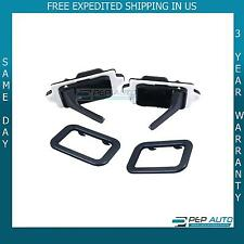 BMW E30 318is 325es 635CSi 524td 735i L6 M3 INTERIOR DOOR HANDLE & TRIM SET