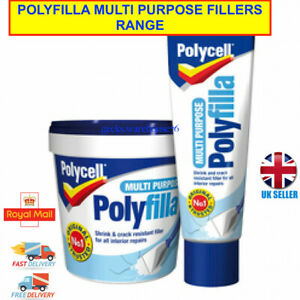 Multi Purpose Filler | Powder or Ready Mixed | Polycell Polyfilla One Hour Caulk