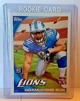 Ndamukong Suh Rookie Card 2010 Topps Rookie Card RC Detroit Lions