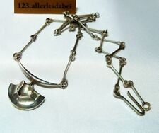 Schönes Lapponia Collier 925 Silber Finnland 1983 Kette Modernist / BP 204