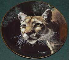 Hamilton/Martina R Richter Ltd Ed Plate:American Cougar