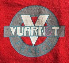 TRUE VINTAGE 80'S VUARNET FRANCE -FRUIT OF THE LOOM GRAPHIC T-SHIRT-LARGE-RARE