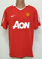 MANCHESTER UNITED 2010/2011 HOME FOOTBALL SHIRT JERSEY NIKE SIZE L ADULT