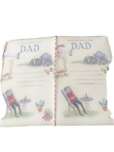 2 Happy Fathers Day Greetings Cards