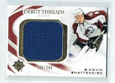 10-11 UD Ultimate Debut Threads  Kevin Shattenkirk  /200  Jersey  Rookie