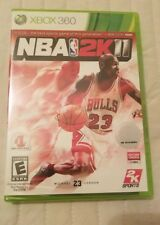 NBA 2K11 Xbox 360  Brand new factory sealed
