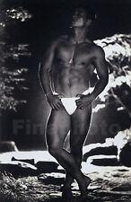 1965 Vintage MALE SEMI NUDE Japan Bodybuilder Muscle Photo By TAMOTSU YATO 11x14