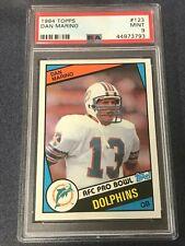 1984 Topps #123 DAN MARINO PSA 9 Miami Dolphins *ANM1-793