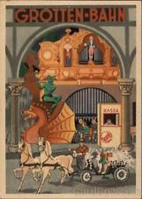 Wiener Wurstelprater-Amusement Park Postcard Vintage Post Card