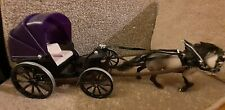 Schleich horse with Phaeton carriage