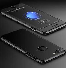 Handy Schutz Hülle für iPhone 7 6 5 SE Full Cover Bumper Case Echt Glas Folie