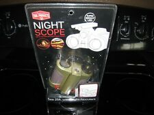 Night Scope See In The Dark With Night Beam Vision~25 Ft~ Night-Noculars! New