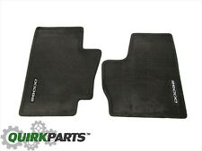 98-02 Dodge Ram 1500 2500 3500 Front Dark Grey Carpet Floor Mats OEM NEW MOPAR