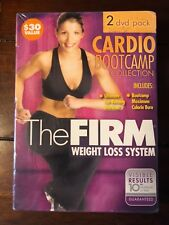 2 DVD Set CARDIO BOOT CAMP Collection THE FIRM Weight Loss System FACTORY SEALED