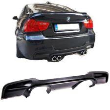 DIFFUSEUR ARRIERE LOOK M3 CSL 4 SORTIE CENTRAL BMW SERIE 3 E90 ET E91 PACK M