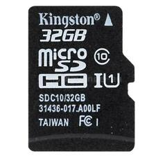 Kingston 32GB Micro SD SDHC TF Memory Card Class 10 For Smartphone Tablet 48MB/S