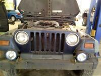 Speedometer Cluster LHD MPH Fits 97-00 WRANGLER 4226387