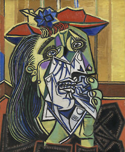 Pablo Picasso - Weeping Woman Print Poster Giclee