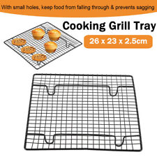 Stainless Steel Cooling Baking Rack Nonstick Cooking Grill Tray Biscuit Bread US