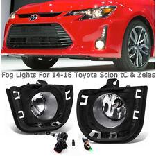 For 2014 2015 2016 Toyota Scion tC & Toyota Zelas Fog Lights Driving Lamp Pair (Fits: Scion tC)