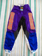 Vintage Sinisalo MX Motocross Dirtbike Pants Youth Size 25 Made in Finland