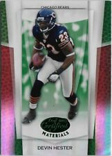 Z) 2007 Leaf Certified Devin Hester Mirror Emerald 1/5 Chicago Bears