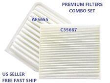 AIR FILTER & CABIN AIR FILTER COMBO AF5655 CA10190 C35667 CF10285 TOYOTA  SCION