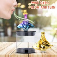 Desktop Decompression Rotating Spherical Gyroscope Kinetic Desk Toy for Adult US