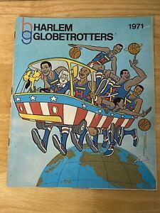 Harlem Globetrotters 1971 Official Magazine Yearbook Vintage VTG