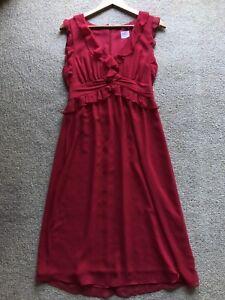 LEONA BY LEONA EDMISTON Gorgeous Red Dress Size 10