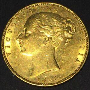 1864 Die 30 full Gold Sovereign Error Coin?