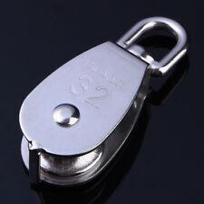 M20 304 Edelstahl Seilrolle Drahtseilblock Umlenkrolle Blockseilrolle Blockrolle